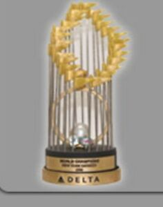 Details About Ny Yankees 1996 World Series Champions Replica Trophy Sga 2016 Mlb Baseball