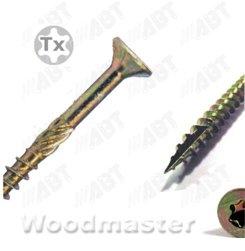 200Stk Spanplattenschrauben 5,0 x 40 mm TX25 Woodmaster