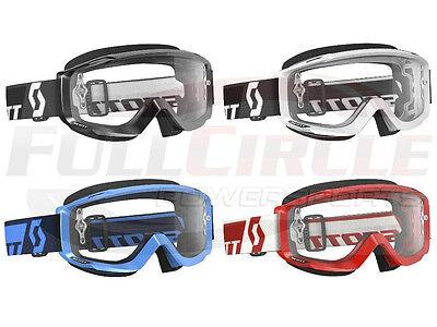 Scott USA Split OTG Over The Glasses Goggle Clear Lens Motocross MX/ATV/UTV
