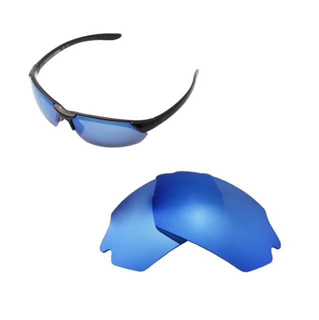 83795fa4f8a Walleva Ice Blue Polarized Replacement Lenses For Smith Parallel Max  Sunglasses