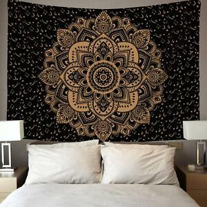 Details about Indian Mandala Best Christmas Gifts Wall Hanging Cotton  Blanket Twin Tapestry