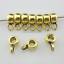 120//360pcs Tibetan Silver//Gold Charms Spacer Beads Bail Connectors Pendant