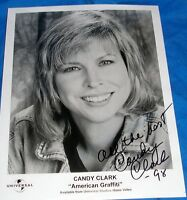 Autographed Candy Clark Photo American Graffiti Movie Signed Picture Photograph