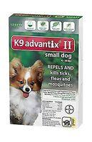 Bayer K9 Advantix Ii Flea And Tick Control Treatment For Dogs 6... Free Shipping