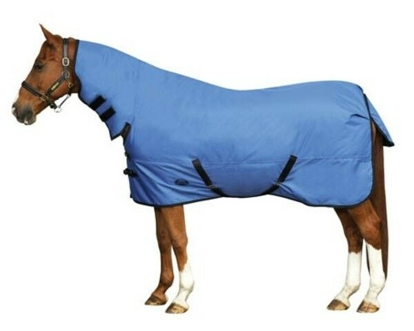 Weatherbeeta Geschwarz 600D Combo Neck Medium Weight Turnout Rug ONE LEFT 5`6