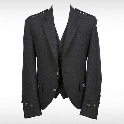 """54 Details about  /Trendy Scottish Tweed Argyle Kilt Jacket With Waistcoat//Vest Sizes 36/"""""""