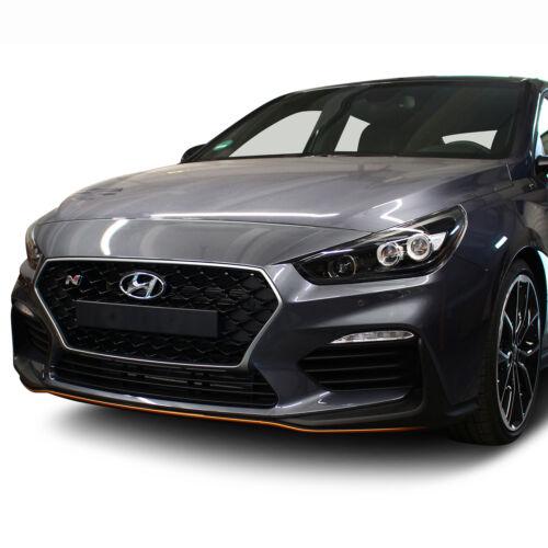 Spoilerschwert Hyundai I30N Kupfer Matt Frontspoiler Folie Zubehör Tuning D017