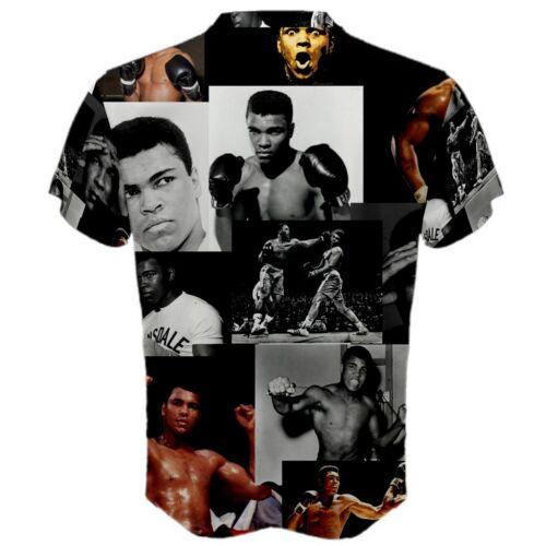 Muhammad Ali Boxing Paparazzi Men/'s Sports Mesh Tee T-SHIRT TEES MA2