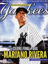 MARIANO RIVERA ESPANOL YANKEE STADIUM ULTIMO EDICION ESPECIAL 2013 CIERRE FINAL