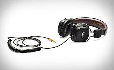 Black Marshall Major Headphones w/ Mic and Remote - 100% Original US SELLER