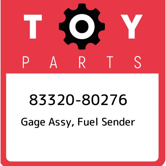 Toyota Land Cruiser FJ40 FJ45 BJ40 BJ42 OEM Genuine Fuel Sender Gage 83320-60051