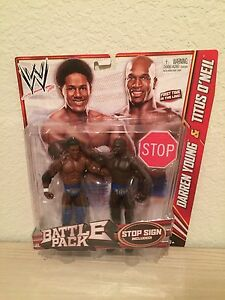 DARREN YOUNG Prime Time Players WWE Wrestling Battle Pack Series 21 Mattel 2011