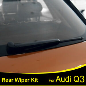 Tailgate-16-034-Rear-Windshield-Wiper-Arm-Blade-Set-For-Audi-Q3-SUV-8U-2011-2017