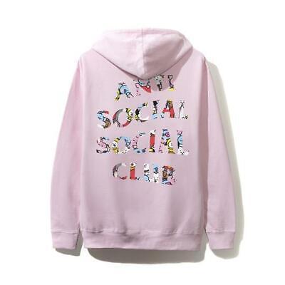 ASSC x BT21 BLENDED HOODIE ANTI SOCIAL SOCIAL CLUB  X-SMALL Black!!! IN HAND