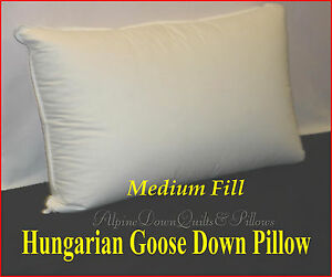 HUNGARIAN-GOOSE-DOWN-MEDIUM-PILLOW-QUEEN-FILL-POWER