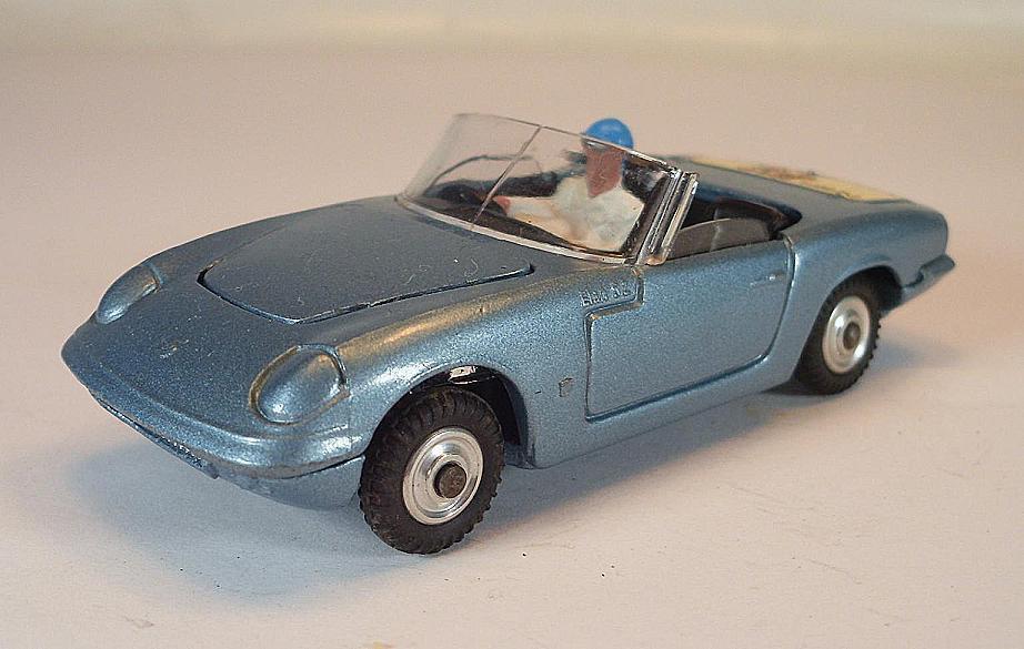CORGI TOYS LOTUS ELAN s2 avec chauffeur personnage Metallicbleu  5390