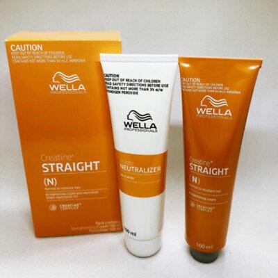 New WELLA Permanent Hair Straightening Straightener Rebonding Cream System+++ | eBay