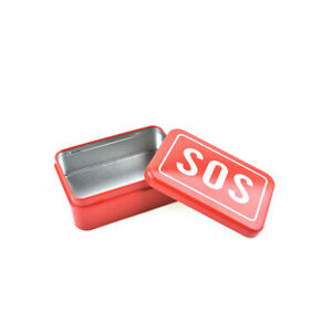 SOS Box Help Outdoor Sport Camping Hiking Survival Kit Emergenc Gear Tool Box