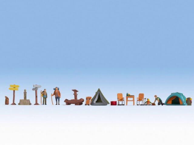 Camping à Thème Ensemble Figurine Noch 16201