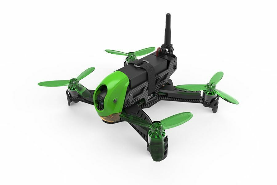 HUBSAN X4 JET BRUSHLESS CARBON RACING DRONE W HT012D TRANSMITTER & VIDEO MONITOR