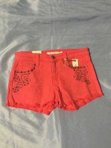 B Red Colore Nwt Taglia Frankie 25 Pantaloncini Coral donna estivi Pq0IB