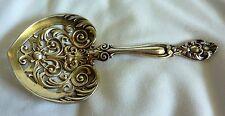 Gorham Sterling Silver Nut Spoon Bon Bon Antique Ornate Pierced Victorian Silver