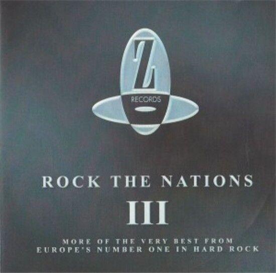 VA - Rock The Nations III SHY FINAL FRONTIER VAUGHN CD NEU