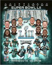 Philadelphia Eagles 2017 Super Bowl LII Champions Composite Official 8x10 Photo