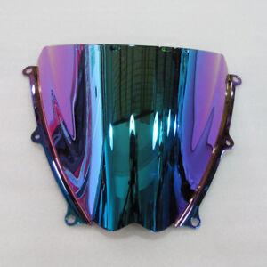 Windshield-For-Suzuki-GSXR1000-K7-2007-2008-Iridium-Deep-Screen-Double-bubble