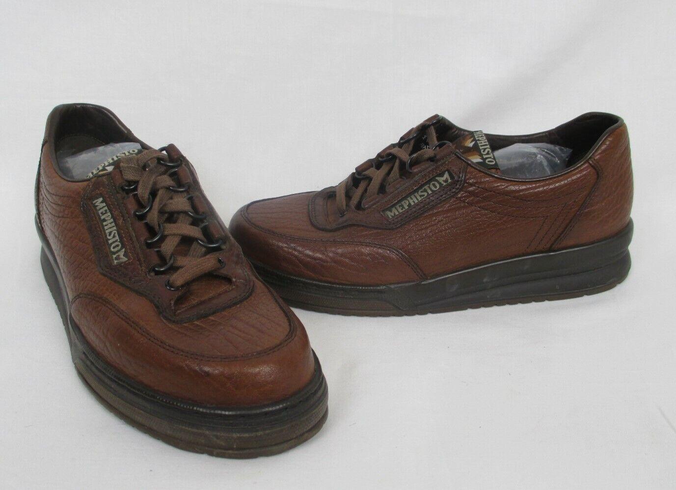 negozio a basso costo MEPHISTO Marrone Pebble Pebble Pebble Grain Leather Lace Sport scarpe US 8 EUR 5.5 France  saldi