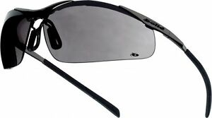 Bolle Contour Metal CONTMPSF Safety Glasses Smoke - 2,5 or 10 Pairs