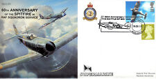 CC53 RAF 60th Supermarine Spitfire Battle of Britain 19 & 80 Sqn cover #2