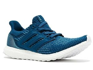 New-Men-039-s-Adidas-Ultra-Boost-Parley-Running-Training-Shoes-Sz-8-5-blue