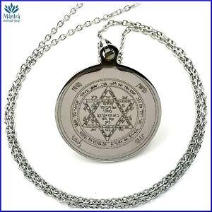 Sigillo-di-Salomone-Amuleto-Protettivo-contro-magia-e-malocchio-Acciaio-316L