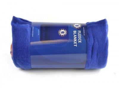 Blue One Size Chelsea FC Fade Fleece Blanket