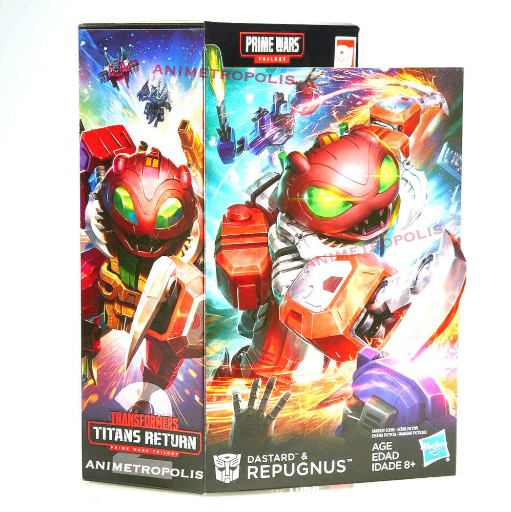Transformers Generations Prime Wars Trilogy Repugnus Dastard Solus Prime UK