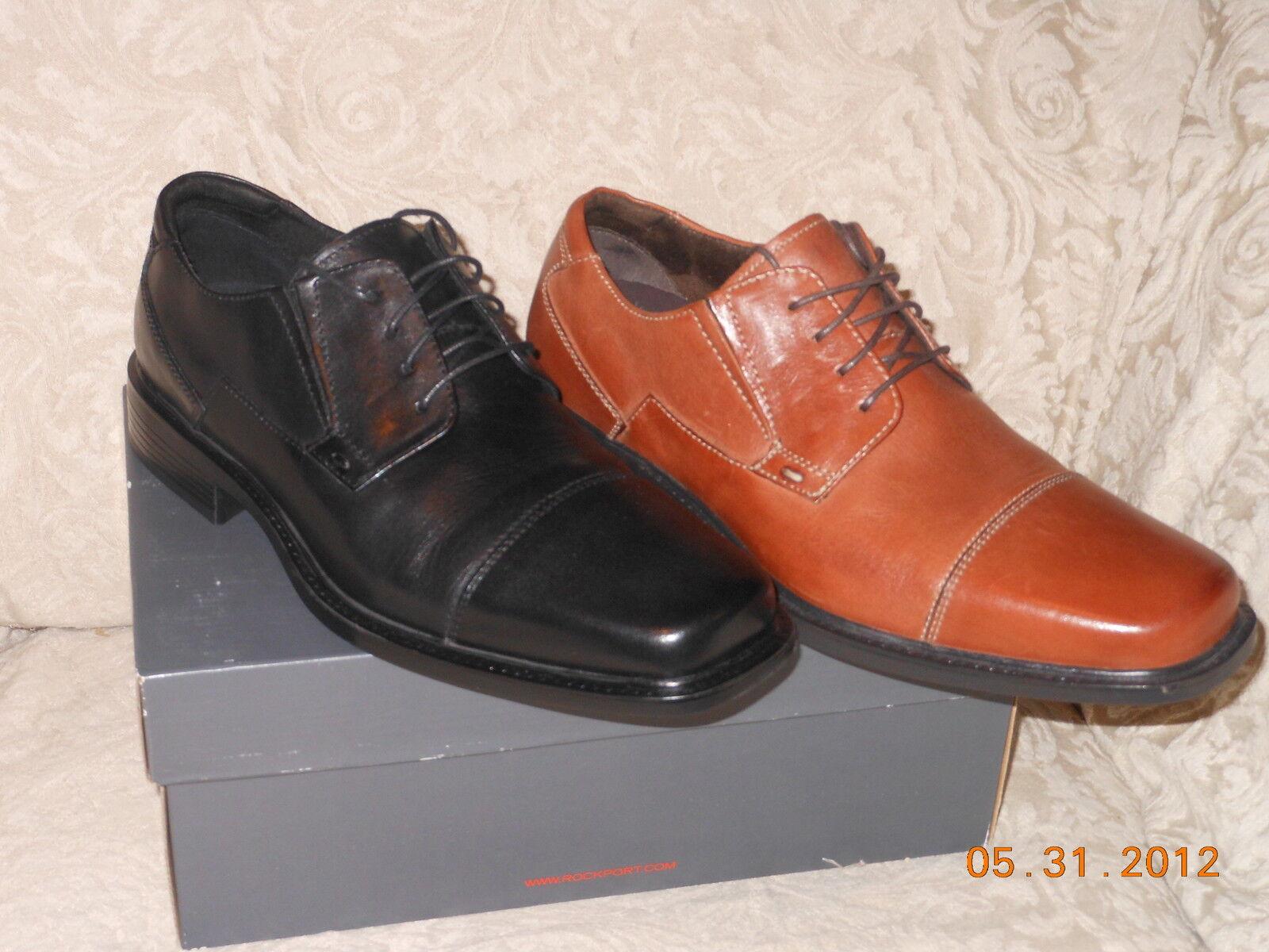 Rockport DESALA CAP TOE dress oxford Black or brown Multiple sizes