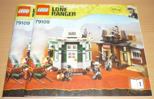 Lego The Lone Ranger Bauplan 79109 only instruction