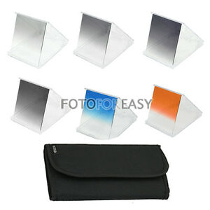 6pc-Gradual-Graduated-ND-2-4-8-ND2-ND4-ND8-Color-Filter-Kit-For-Cokin-P-Series