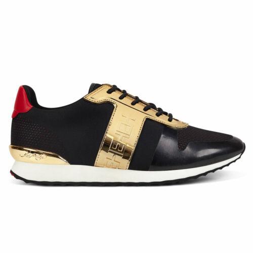ED HARDY Mono runner-metallic black//gold