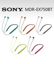 SONY MDR-EX750BT Head-Ear Neck type in ear Wireless Headphone Pure bass