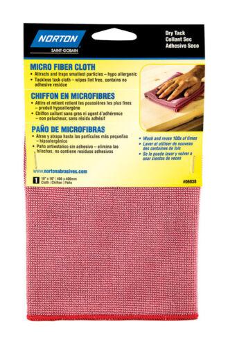 W Microfiber  Tack Cloth L x 16 in Norton  16 in