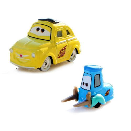 2-Pack Mattel Disney Pixar Cars 2 Guido /& Luigi 1:55 Diecast Toys Car Loose New