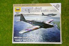 Zvezda WW2 FAIRY BATTLE  BRITISH LIGHT BOMBER 1/144 scale  6218