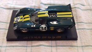 Appris Fly Car Classic Lola T70 Réf. C36 Mk3b 1000 Km Spa 1970 #34-afficher Le Titre D'origine à Tout Prix