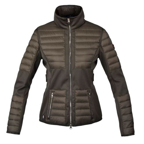 Kingsland Maroon Jackets Ladies Horse Riding Equestrian Breathable Insulated