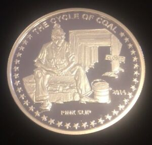 Cycle-of-Coal-Pink-Slip-Silver-Round-1-oz-999-Fine-Silver