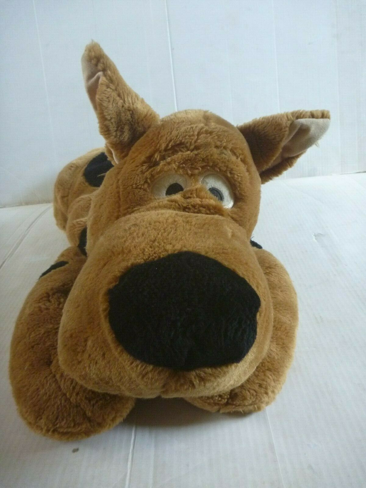 Hanna Barbera SCOOBY DOO large CUDDLE PILLOW soft plush toy 2001 WBSS exclusive