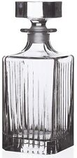 VETRO in cristallo RCR Timeless quadrato DECANTER VINO whiskey decanter