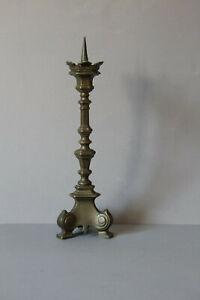 zauberhafter-Kerzenleuchter-Kerzenstaender-kleiner-Altarleuchter-Messing-031954